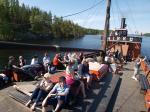 Tar Steam Ship Cruise to the Savonlinna Archipelago